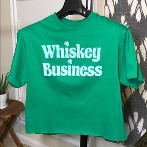 "84d6c8e49f5 FREEZE NWOT - ""Whiskey Business"" St. Paddy s Day T"